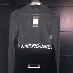 Sheer Nike Crop Top